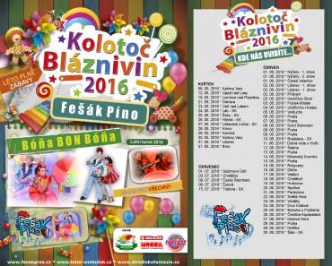 Letní turné Kolotoč bláznivin se rozjíždí!