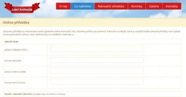 Online přihláška