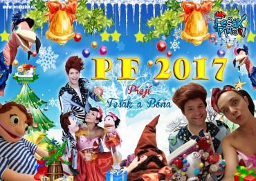 Fešák Píno také přeje ty nejúžasnější Vánoce
