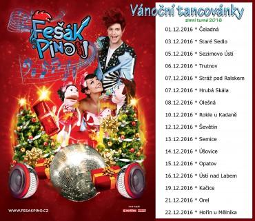 Zimní turné Vánoční tancovánky v plném proudu